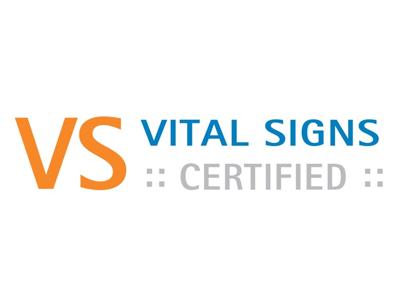 Vital Signs Certified